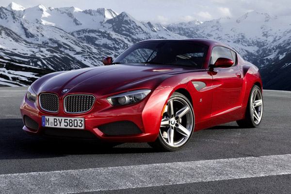 BMW Zagato Coupe - новинка для Concorso d'Eleganza