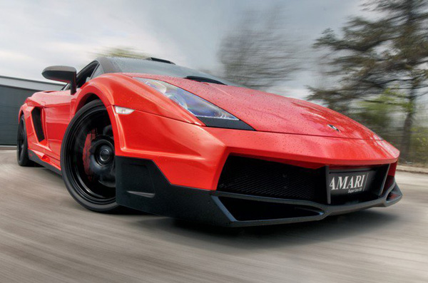 Lamborghini Gallardo Invidia Edition от Amari Design