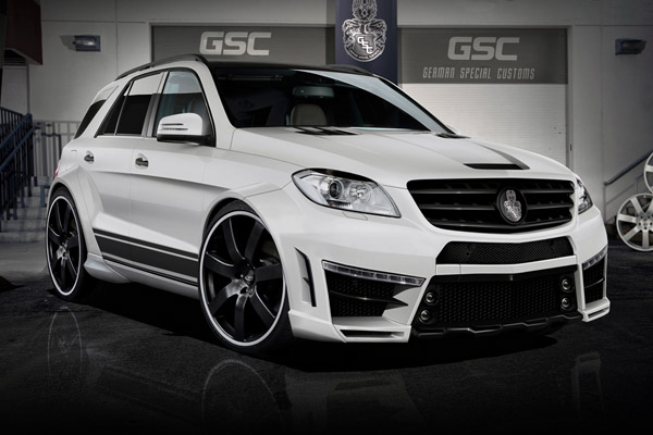 Mercedes-Benz ML Typhoon от ателье GSC